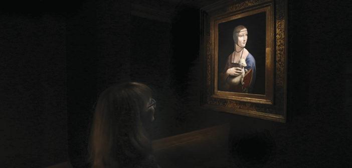 Leonard da Vinci's 'Lady' is back home again