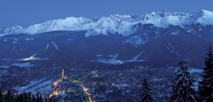 Miasto w góralskim stylu